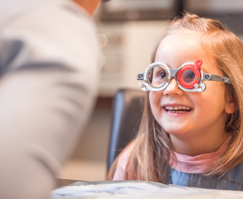 Augenwerte beim Kind messen