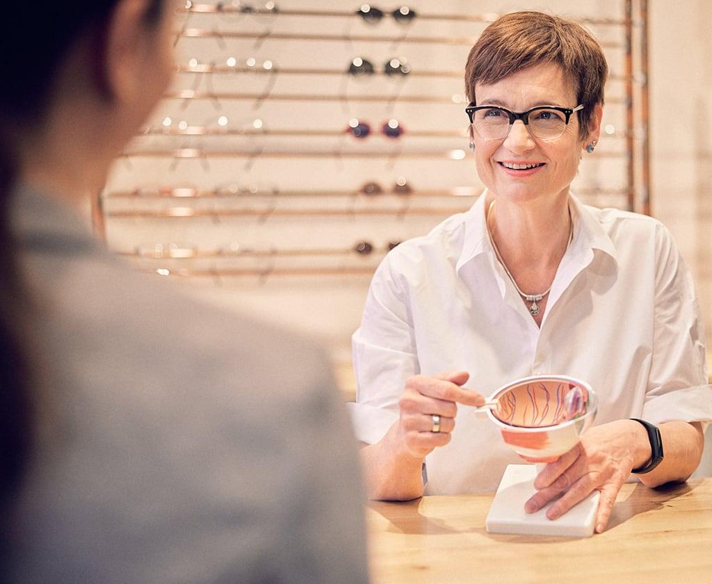 Bedarfsanalyse beim Optiker