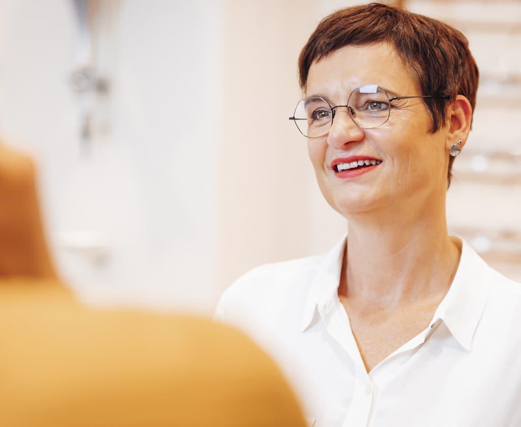 Glasberatung beim Augenoptiker