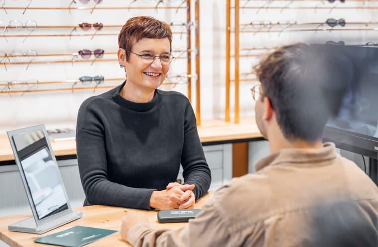 Kaufberatung Herrenbrillen