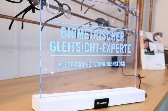 Rodenstock Gleitsicht-Experte Auszeichnung