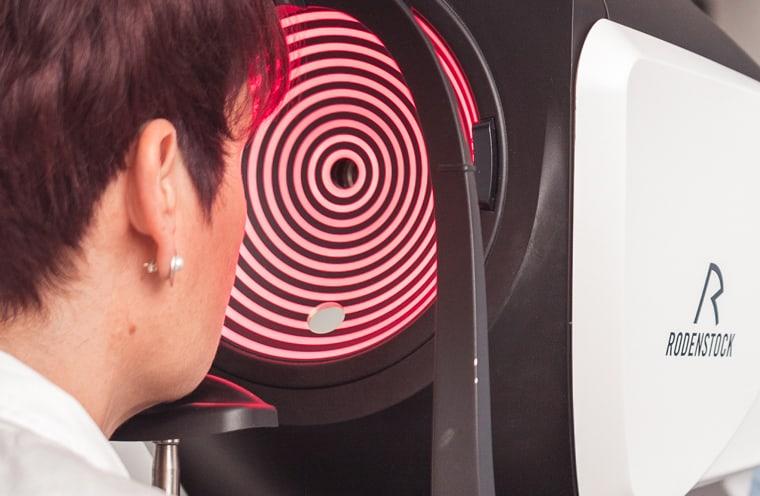 Tonometrie: Messung des Augeninnendrucks
